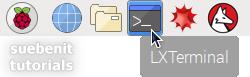 Terminal aufrufen aus Taskleiste