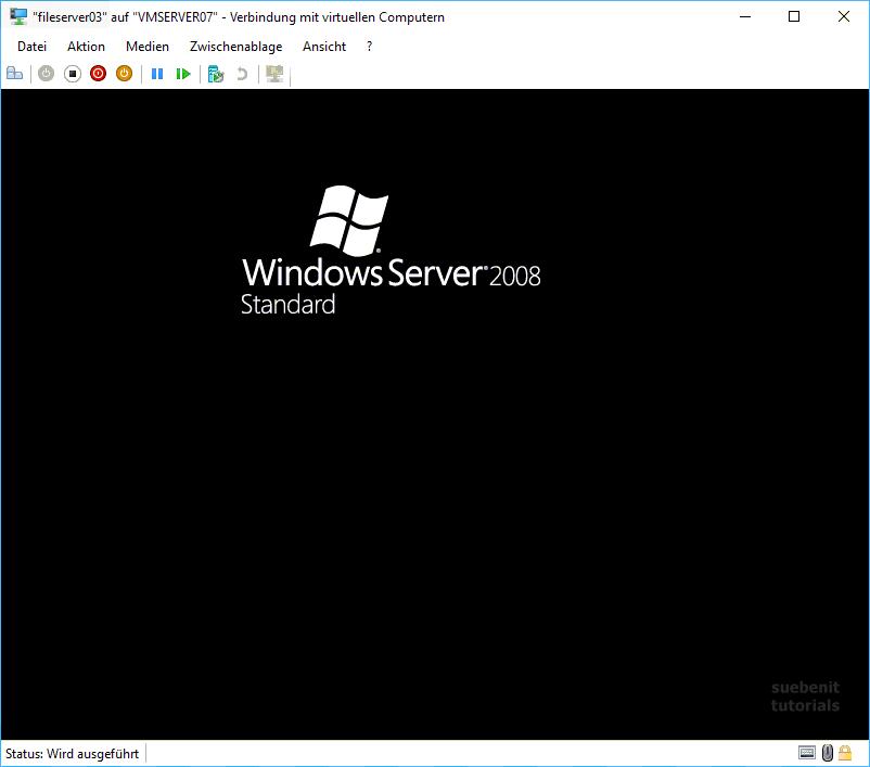Windows Server 2008 Sperrbildschirm Screensaver