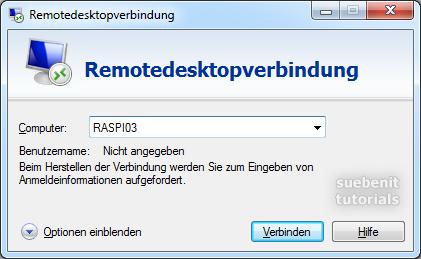 RDP Verbindung herstellen mit Win 7 Remotedesktop aufrufen