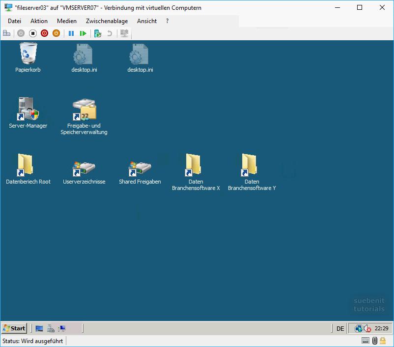Fileserver Windows Server 2008